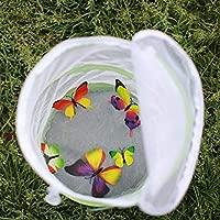 Meetforyou Colector de Insectos Butterfly Garden Plegable Hábitat ...