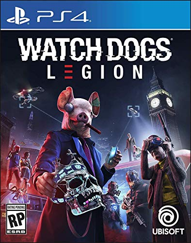 Watch Dogs Legion - PlayStation 4 Standard Edition (Watch Game Video Dogs)