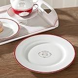 jd diffusion 943bist bistrot assiette soupe multicolore 21 5 cm cuisine maison. Black Bedroom Furniture Sets. Home Design Ideas