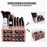 HBlife Makeup Organizer 2 Pieces Acrylic Cosmetic