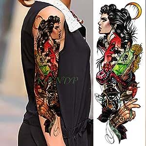 ljmljm 3 Piezas Pegatinas de Tatuaje Impermeables Serpiente Letra ...