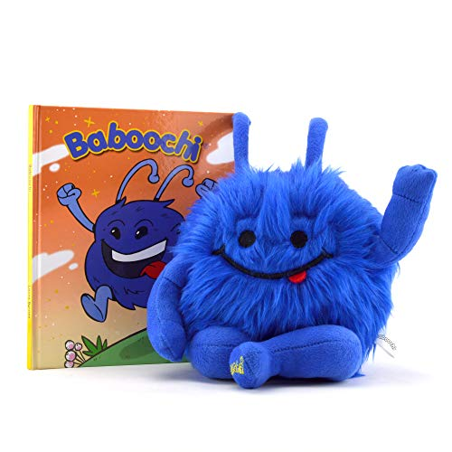 - Baboochi Stuffed Animal Toy, Plush Doll, Fun Interactive Educational Learning for Children Age 2, 3, 4, 5, 6, 7, 8. Hard Cover Children's Story Book Incl. For Kids Girls Boys. For Playing Inside, Out.
