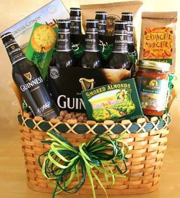 Image Unavailable. Image not available for. Color: Guinness Ale Gift Basket