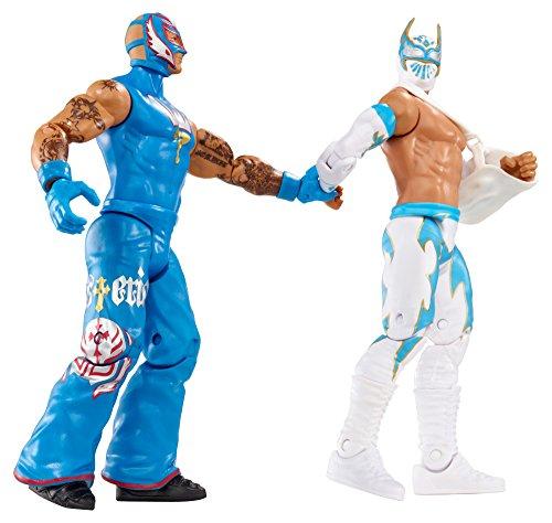 WWE Battle Pack Sin Cara vs. Rey Mysterio Action Figure, 2-Pack