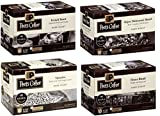 40 Count - Peet's Variety Dark Roast Coffee K-Cups for Keurig K Cup Brewers and 2.0 Brewers - (4 Flavors, 10 K-cups each)