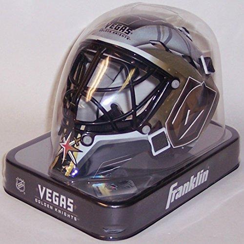 Las Vegas Golden Knights Franklin Sports NHL Mini Goalie Mask - New in Box ()