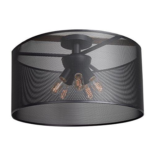 Access Lighting 50923LEDDLP-BL Epic D Round LED Semi Flush, 24