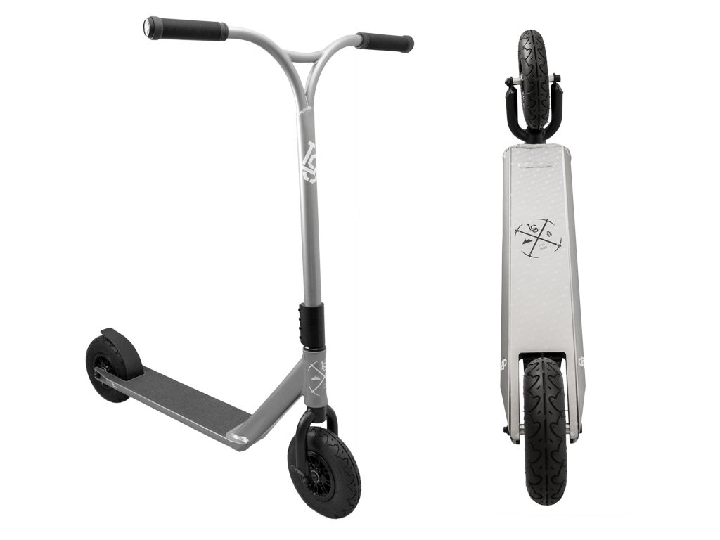 Lucky Pro Dirt Scooter, LS Gunmetal by Lucky Scooter