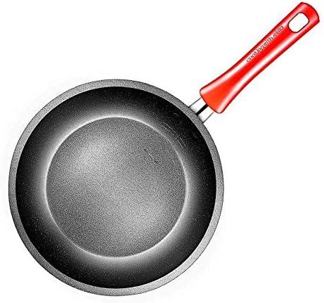 Pot Casseroles Poêles Casserole 28CM Poêle Maifanshi Avec Couvercle Base Anti-Warp Spécialité Anti-Adhésif Ultime Dur Anodisé Résistant Aux Rayures Titane Va au Lave-Vaisselle