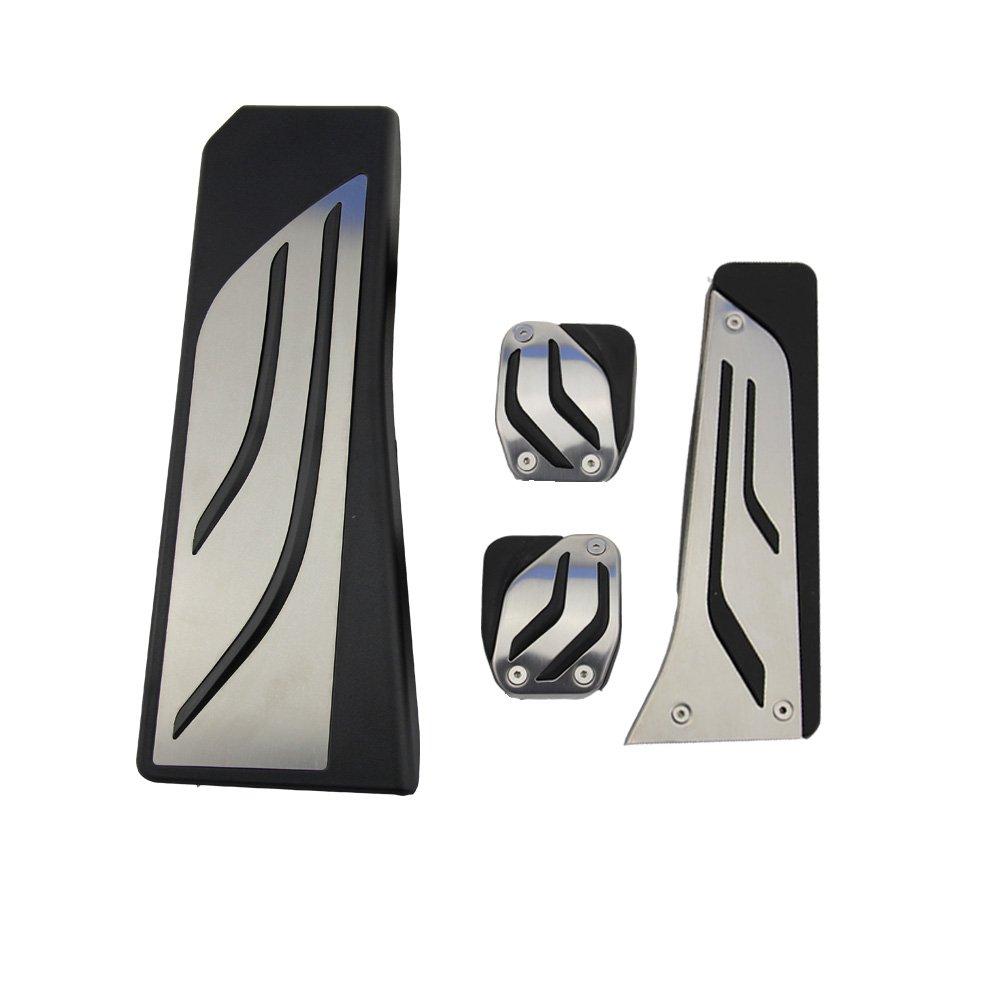 Acier inoxydable Pé dale Capuchons pour X3 X4 F10 F11 523 528 535 F18 GT F07 F12 F13 F01 F02 Repose-pieds Pedals Cover tbparts
