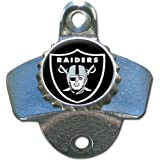 NFL Oakland Raiders Wall Bottle Opener