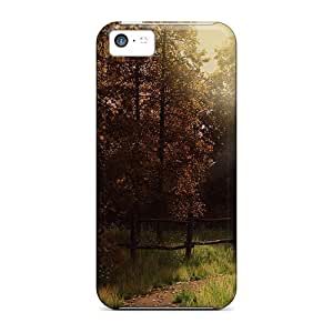 BKdYp3731SVNqF Case Cover Autumn Of The Wolf Iphone 5c Protective Case
