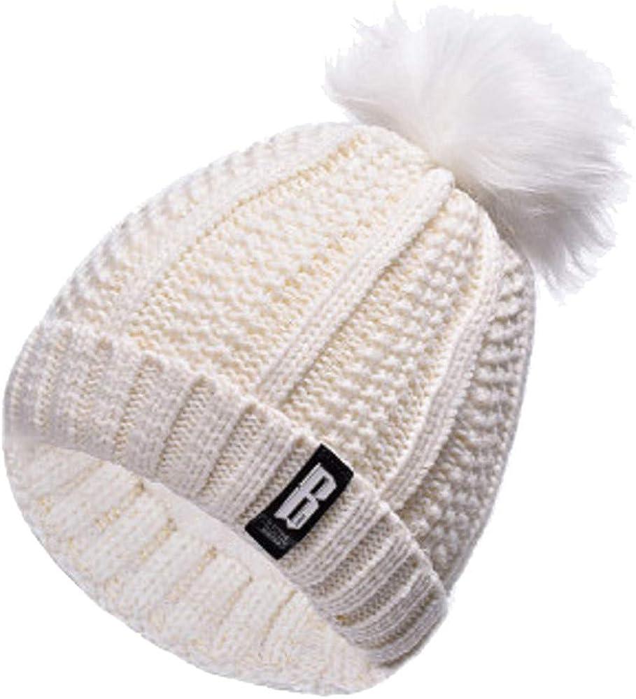 QS_Go Sombreros de Mujer Sombrero de Punto de Mujer Sombreros de ...