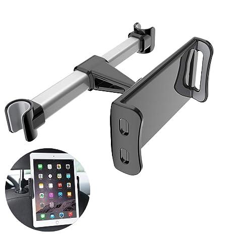 Homeet Soporte Tablet Coche Soporte para Reposacabezas Sporte del Asiento Trasero Soporte Base Ajustable 360°