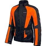 Olympia Unisex-Adult's New Horizon Rain Jacket (Neon Orange, X-Large/XX-Large)