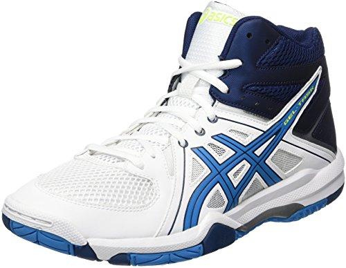 Jewel De Asics white Chaussures Blanc blue task Gel Homme Volleyball Mt safety Yellow FFHvZIq4