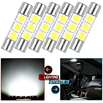 11 Set White Led Lights Interior Package 10 & 31mm Map Dome For Nissan Quest X-trail Leaf Frontier Gt-r Juke 2013-2017 Car Lights Automobiles & Motorcycles