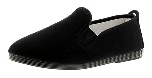 Flossy Gaudix Mens Mens Canvas Shoes Black//Black