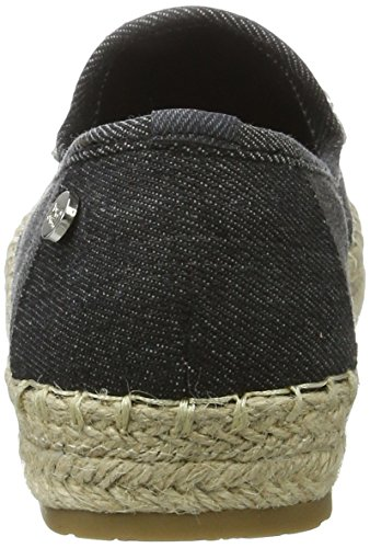 Ladies Nero Espadrillas Donna XTI Black Black Black Textile Shoes nYqIYEO7