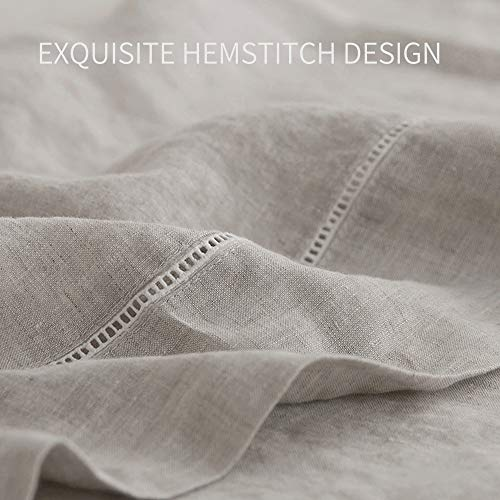 Simple&Opulence 100% Washed Linen Sheet Set