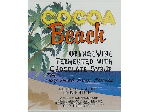 Cocoa Beach Orange Chocolate