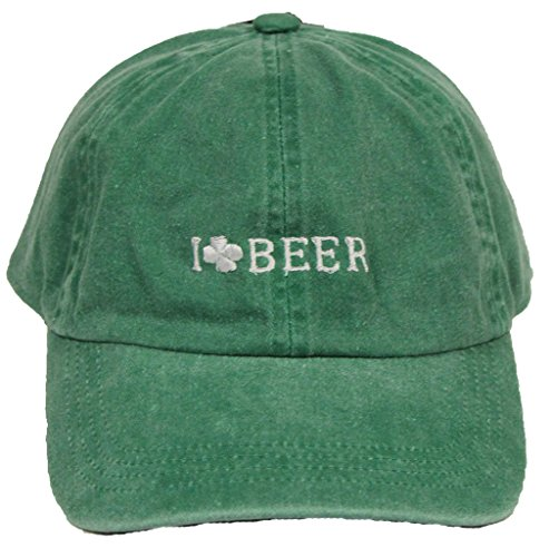Funky Junque Dad Hat Irish Green Shamrock St. Patrick's Day Party Saying Hat Unisex Baseball Cap