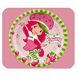 Mystic Zone Personalized Strawberry Shortcake Rectangle Mouse Pad (Black) by mcsharks