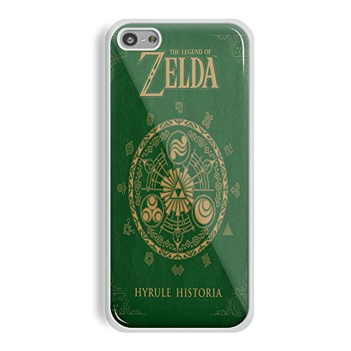The Legend Of Zelda Hyrule Historia For IPhone And Samsung Galaxy Case IPhone 5C White