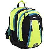 Eastsport Sport Backpack for School, Hiking, Travel, Climbing, Camping, Outdoors, Black/Neon Yellow