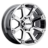 Ultra 245V Spline 17x8 8x165.1 +20mm PVD Chrome Wheel Rim