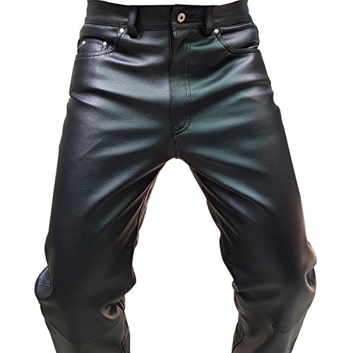 Biker Leather Trousers - 9