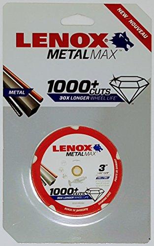 Lenox Tools 1972918 METALMAX Diamond Edge Cutoff Wheel, 3