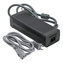 Microsoft Official Power Supply 203W AC Adapter Charger for Xbox 360 XENON / ZEPHYR Models Only