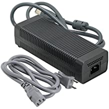 Microsoft Original 175W Power Supply AC adapter for Xbox 360 FALCON or OPUS Models Only (Renewed)