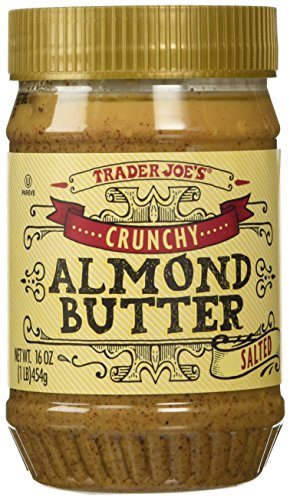 Trader Joes Crunchy Almond Butter Salted (2 Pack) Crunchy Almond Butter
