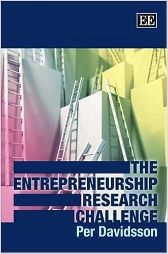 Book The Entrepreneurship Research Challenge