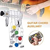 Guitar Buddy Teaching Aid, Guitar Aids, Chord Buddy Guitar Learning System, Guitar Beginners Effective Useful Learning System Teaching Aid Tool Device for All Ages