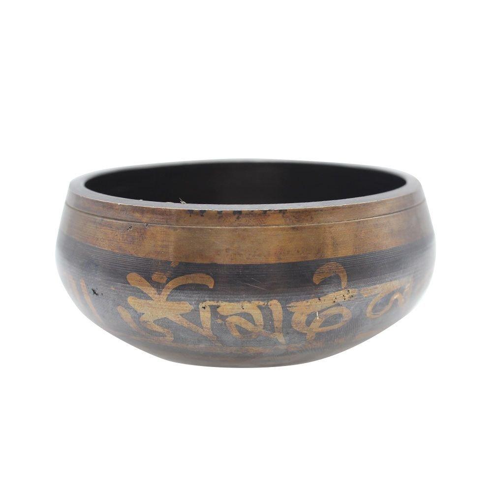 con maza de cobre martillado a mano Primi 8,5/cm /útil Classic Yoga Meditaci/ón Cuenco Tibetano