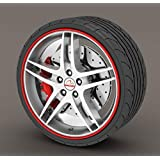Other Alloy Wheel Rim Protector Red Tire Edge