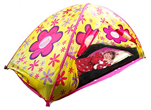 Pacific Play Tents Flower Bed Tent - Twin (Pacific Bed Set)