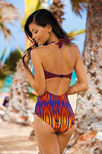 Feba Bañador estilizador de la figura para mujeres Nelly Modelo-03D