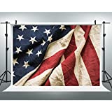 Maijoeyy 7ftx5ft American Flag Photography Backdrop Memorial Day 4th July Backdrops Photography Props Background 437881657