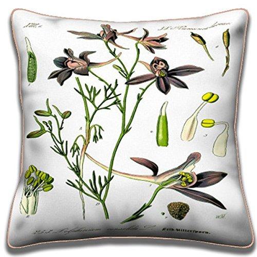 (Larkspur - Botanical Pillows Collection )