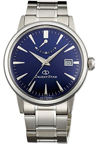 ORIENT Men's Watch ORIENT STAR Classic Power Reserve Mechanical Automatic (with manual winding) Royal Blue (Power Reserve)