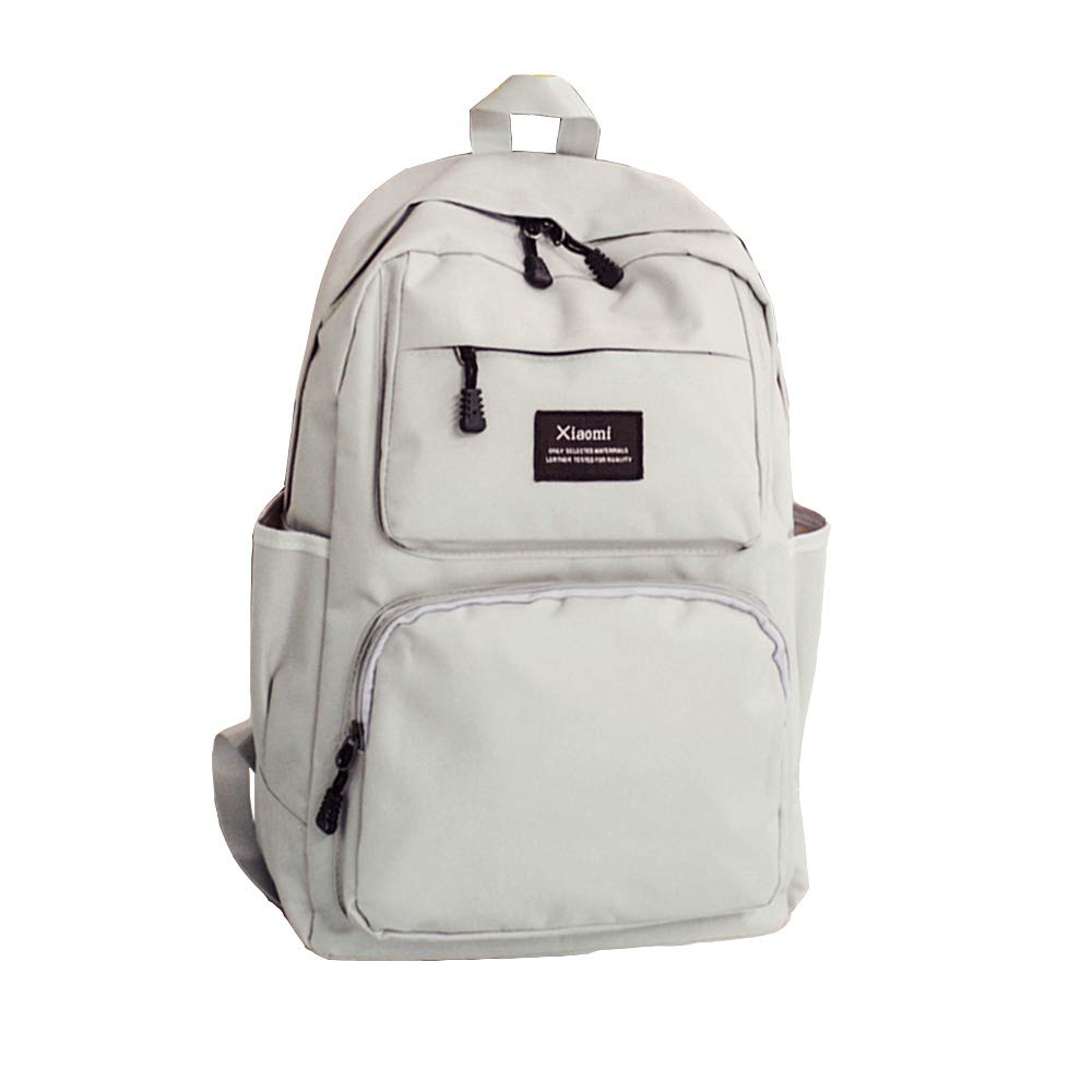 4e807089b794 White Backpacks For School For Girls Backpack With Side Pockets Big Girls  Backpack Student Backpack For Women Teen Backpack Purse Casual Mini Backpack  ...