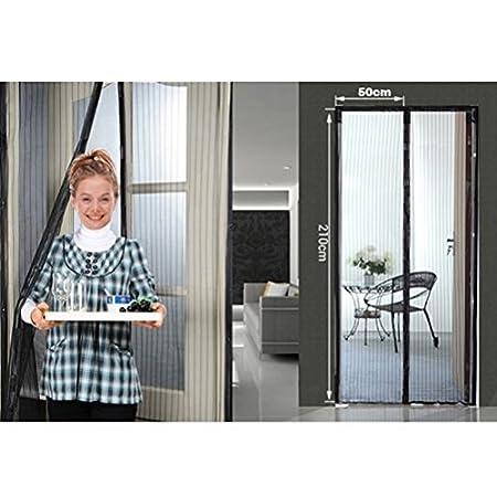Superb Sinospore Magnetic Screen Door Walk Thru Screens Mesh Curtain Keeps Bugs  Mosquitoes Out Pet Friendly Screen