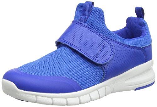 Gola Lupus Velcro, Zapatillas de Deporte Para Exterior Para Niños Azul (Royal Blue/white)