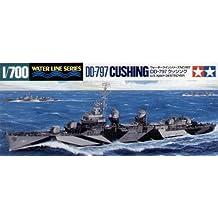 1/700 USS Destroyer DD797 Cushing (japan import)