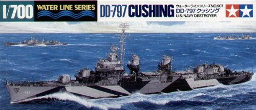 Tamiya - 31907 - Model Boat Destroyer USS Cushing
