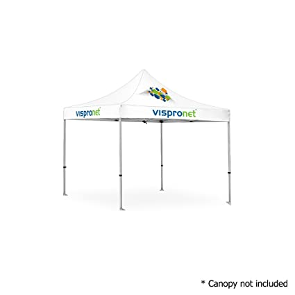 Amazon.com : Vispronet - 10ft x 10ft Commercial Aluminum Tent Frame ...